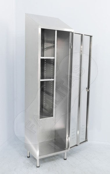 Manufacture and sales of stainless steel boot storage cupboards -